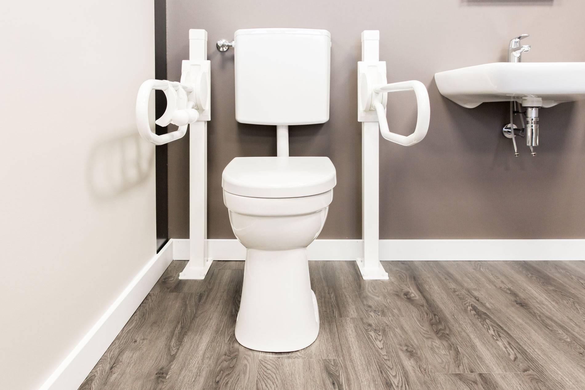 Verhoogde toiletpot